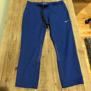 Nike Dri-Fit Blue Capri Leggings